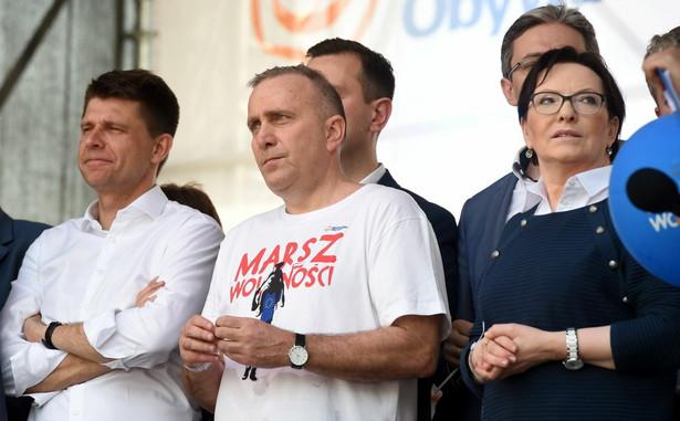 """Lider PO wyraził też gotowość przeprosin, jeśli podczas sobotniego """"Marszu Wolności"""" doszło do scysji między strażą porządkową manifestacji a działaczami LGBT."""