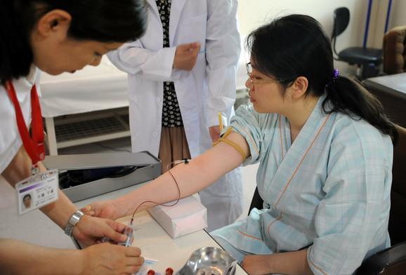 Japancima je krvna grupa mnogo više od medicinskog podatka: Uzimanje krvi u bolnici u Tokiju