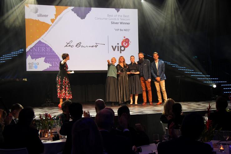 Dodela nagrade EURO EFFIE Leo Burnett-u i VIP mobile-u(1)