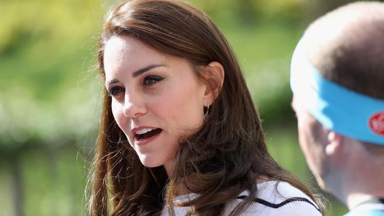 """Księżna Kate w czasie maratonu promującego akcję """"Heads Together"""""""