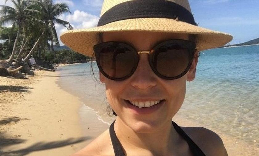 Anna Mucha pokazała gorące zdjęcie w bikini.