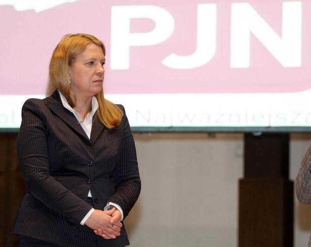 Elżbieta Jakubiak. Fot. Tomasz Rytych/Newspix.pl