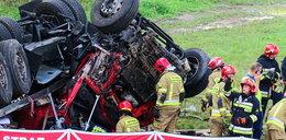 Śmiertelny wypadek na S8. Policja ujęła mężczyzn z rozbitego BMW