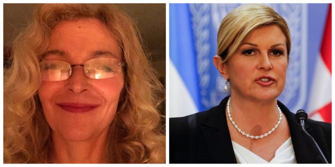 Ljiljana Nikolovska i Kolinda Grabar Kitarović