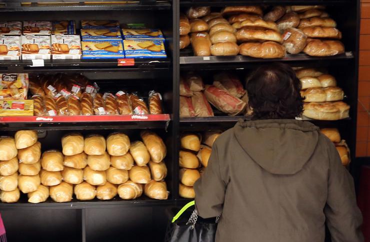 Trgovina Hleb pecivo hrana penzioner
