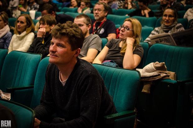 Włóczykij 2014 - pokaz w sali Gryfińskiego Domu Kultury