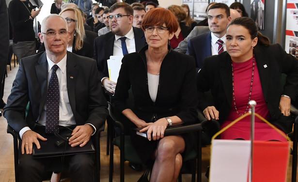 Minister Pracy i Polityki Społecznej Elżbieta Rafalska z wizytą w Budapeszcie