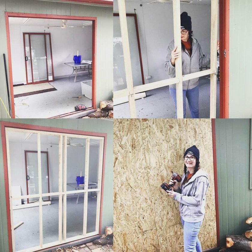 Samotna matka zbudowała dom za 37 tys. zł!