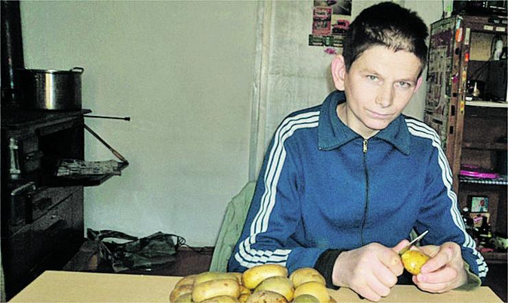 Srba Stanković, dečak iz Trgovišta  Foto V Pesic