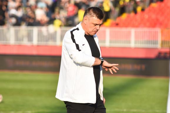 Trener crno-belih Savo Milošević