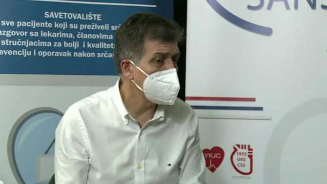 Dr Nebojša Krstić, kardiolog iz Kliničkog centra Niš