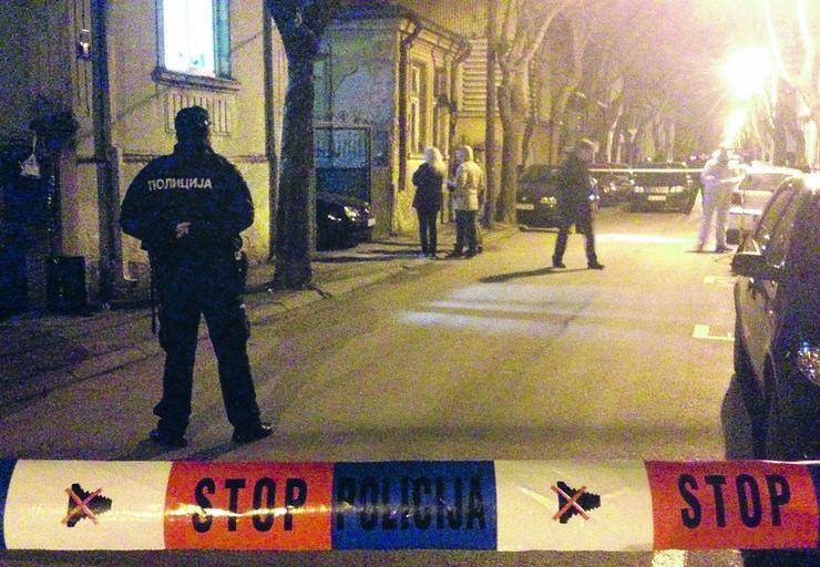 NIS09 uvidjaj na mestu ubistva u Milentijevoj ulici u Nisu foto Branko Janackovic