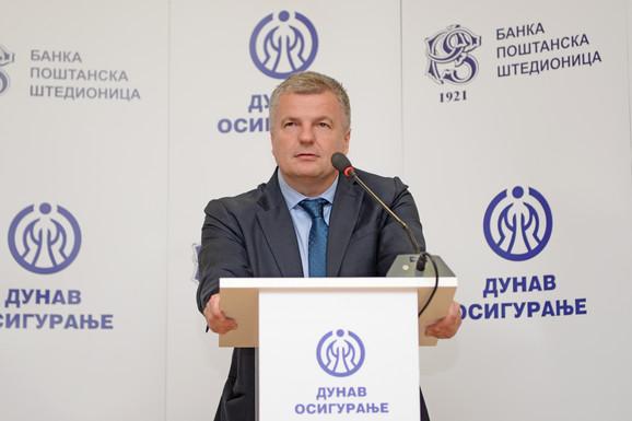 mr Mirko Petrović, predsednik IO Kompanije Dunav osiguranje