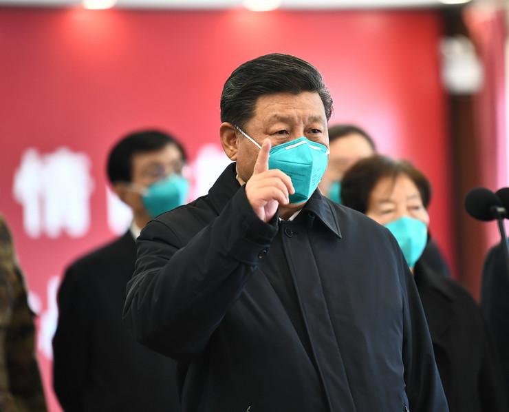 Xi Jinping mask foto profimedia Xie Huanchi Polaric
