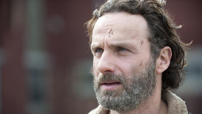 "Rick Grimes on ""The Walking Dead"""