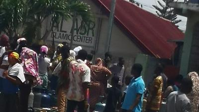 Coronavirus: Panic buying hits lockdown areas