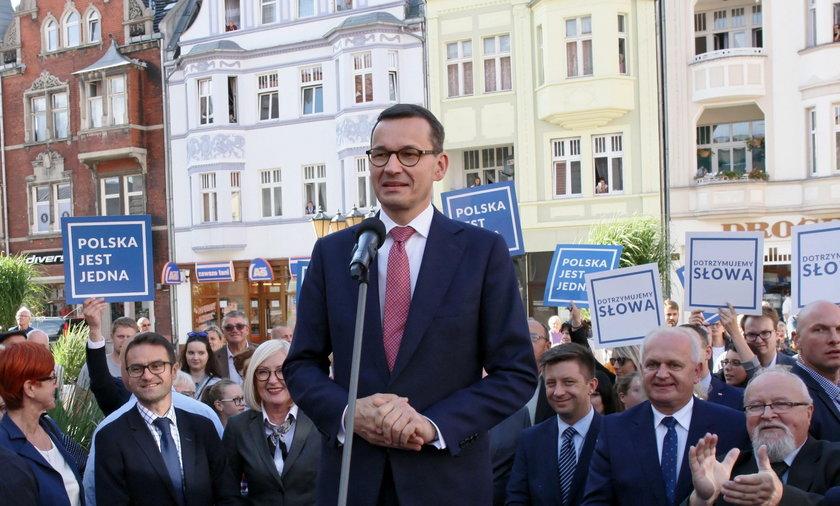 Sąd rozpatrzy w trybie wyborczym pozew przeciwko Mateuszowi Morawieckiemu