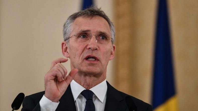 "NATO's General Secretary Jens Stoltenberg (pictured January 2019) said the alliance would beef up its defences but insisted this did not mean ""mirroring"" any Russian build-up of missiles"
