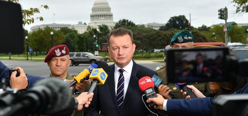 Minister Błaszczak z wizytą w USA. Chodzi o ważną transakcję za grube miliardy. Szef MON zdradził termin