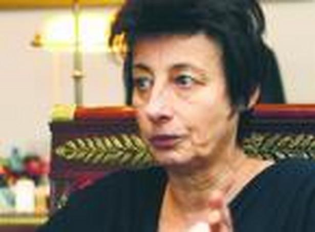 Irena Wóycicka, sekretarz stanu w Kancelarii Prezydenta.