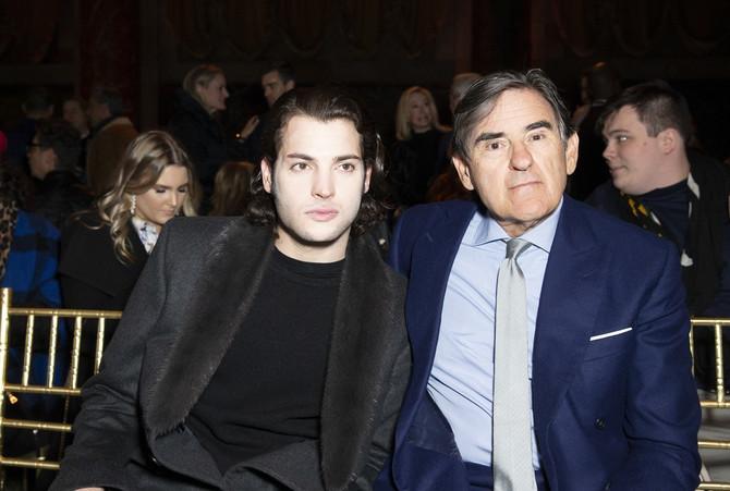 Harijev stariji brat Piter i otac