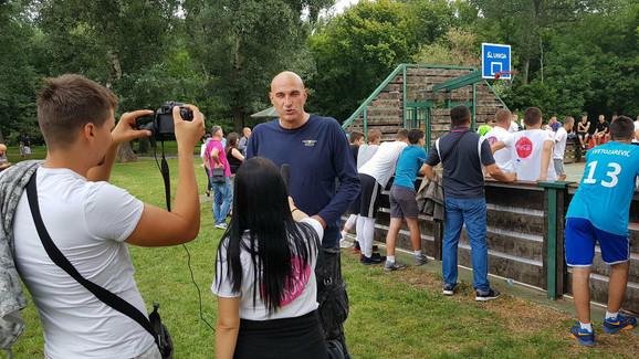 Goran Grbović na otvaranju Sportskih igara mladih