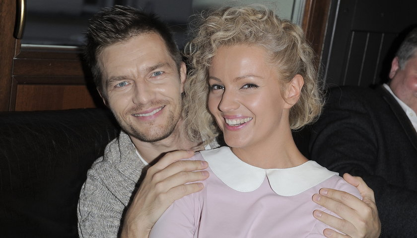 Adam Sztaba i Dorota Szelągowska pozują do zdjęcia