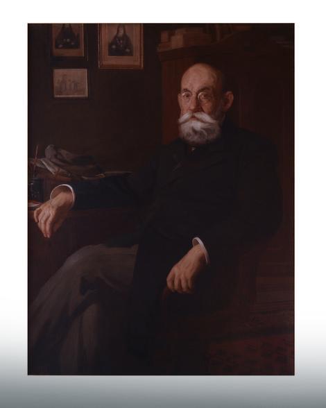 Portret Stojana Novakovića koji je naslikao Uroš Predić 1920.