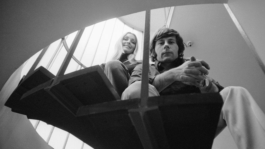 Sharon Tate i Roman Polański w 1968 r.