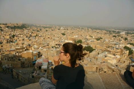 Milena je napravila predah u Džaisalmeru, zlatnom gradu u Indiji