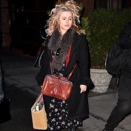 Helena Bonham Carter bez makijażu. To nie był jej najlepszy dzień…