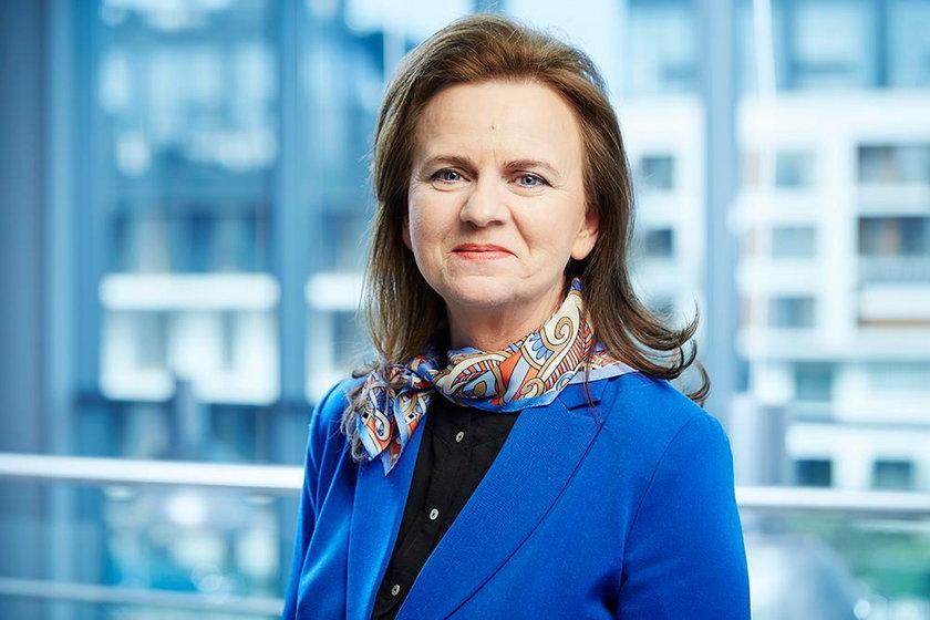 Prezes ZUS prof. Gertruda Uścińska