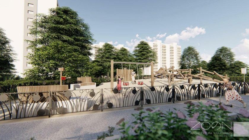 Taki będzie park na Bielanach