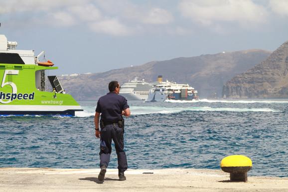 Grčka policija