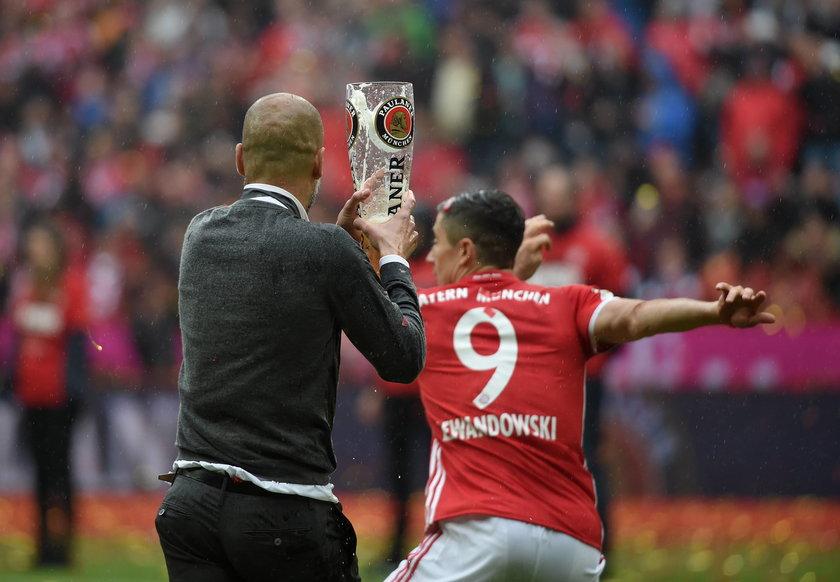 Robert Lewandowski i Bayern Monachium świętowali mistrzostwo Niemiec