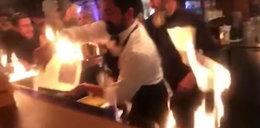Kelner podpalił klientów restauracji. Wśród ofiar znana modelka