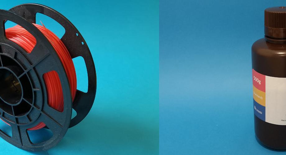 UV-Harz oder Kunststoff-Filament: 3D-Drucker im Vergleich