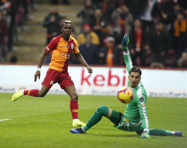 Henry Onyekuru was on fire for Galatasaray, netting a hattrick on Saturday