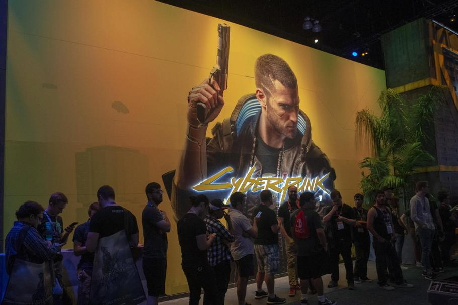 Promocja gry Cyberpunk 2077 podczas Electronic Entertainment Expo (E3), Los Angeles, 12.06.2019