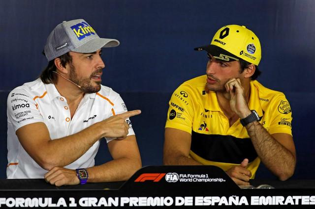 Fernando Alonso i Karlos Sainc mlađi