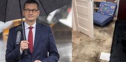 Premierowi też zalało piwnicę