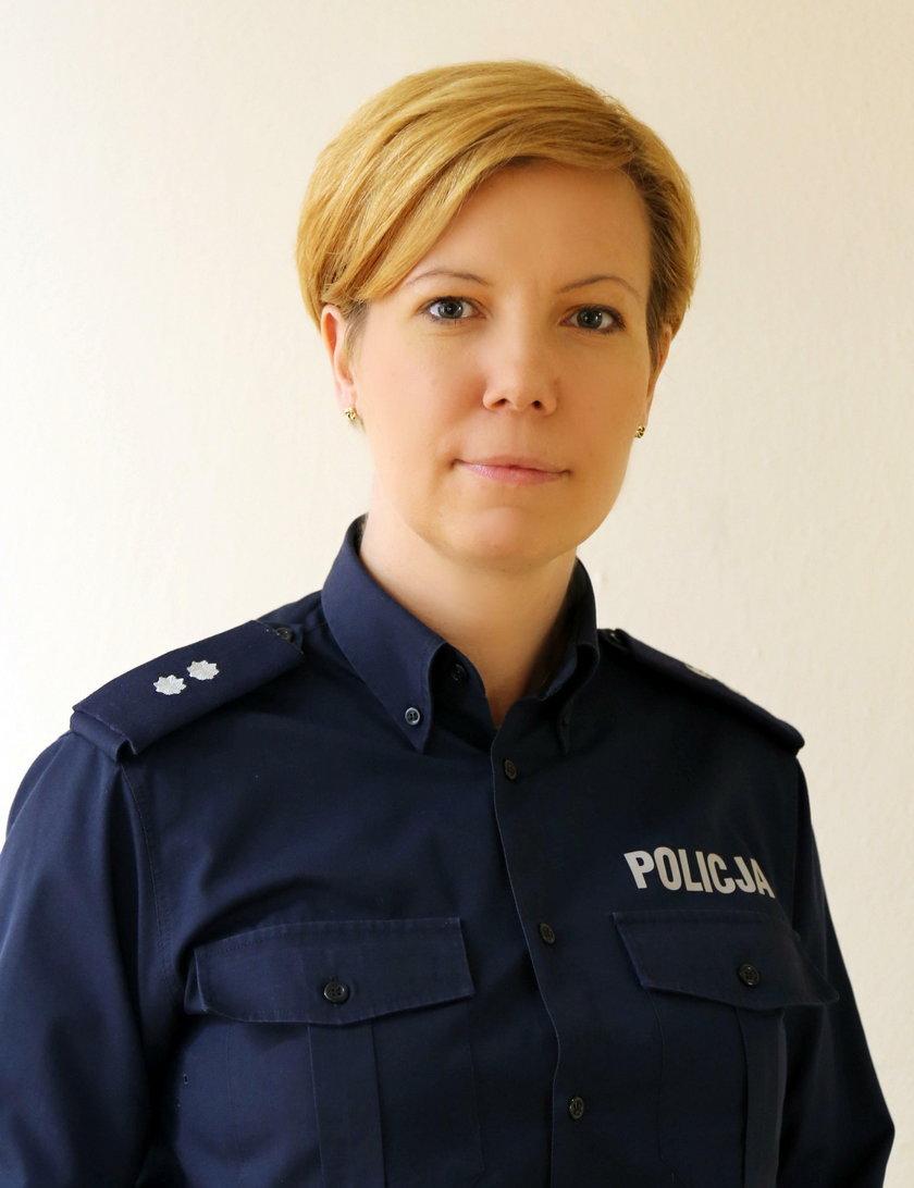 komisarz Joanna Banaszewska z mokotowskiej policji: