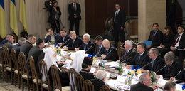 Kliczko rozmawia z Janukowyczem