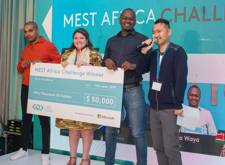 MEST Africa Challenge Winners.