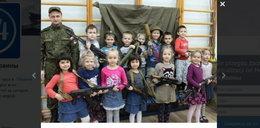 Rosjanie szkolą przedszkolaki z obsługi broni