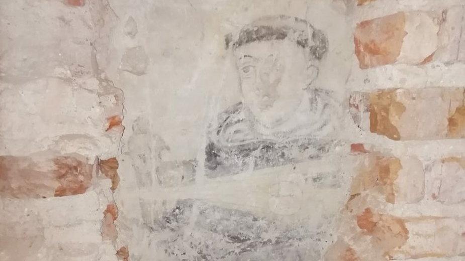 W klasztorze w Sejnach odkryto XVII-wieczne malowidło