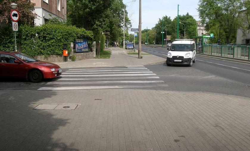 Poznan beda światła na skrzyżowaniach ulicy Grunwaldzkiej z Rycerską i Ostroroga