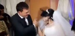 Skandal na ślubie. Uderzył pannę młodą na oczach gości