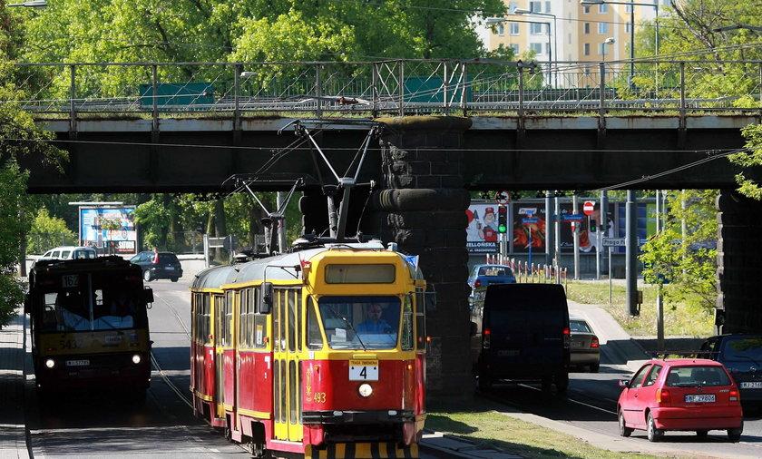 Tramwaje zniknęły z 11 Listopada