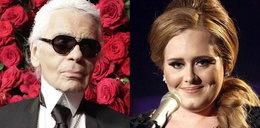 Karl Lagerfeld o Adele: Za gruba, ale ma ładny głos